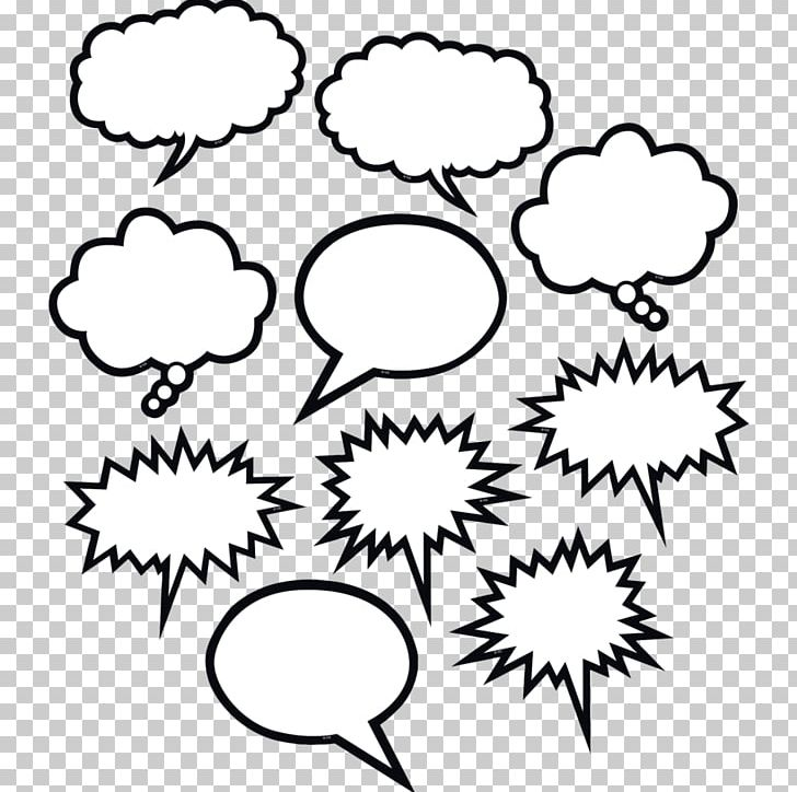 Speech Balloon Bubble PNG, Clipart, Artwork, Black, Black And White, Branch, Bubb Free PNG Download