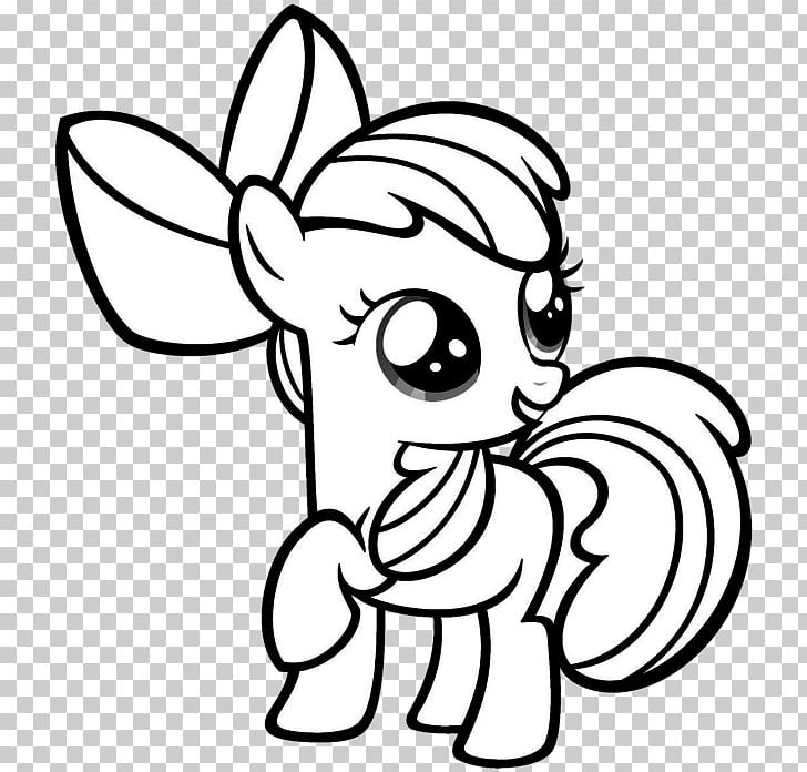 Apple Bloom Applejack Rainbow Dash Coloring Book Pony PNG, Clipart, Black,  Child, Color, Face, Fictional Character