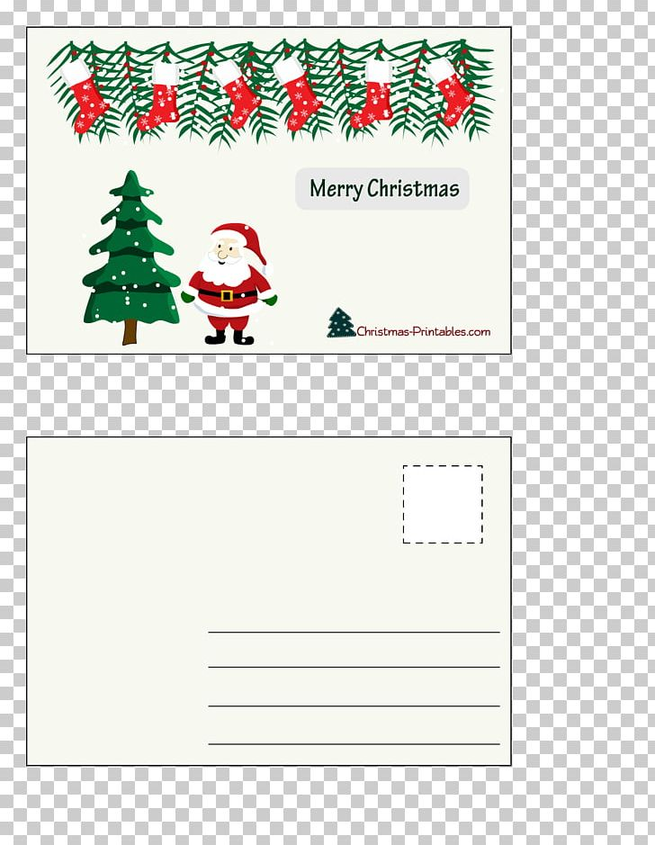 Christmas Tree Santa Claus Christmas Ornament Paper PNG, Clipart, Advent Calendars, Area, Border, Christmas, Christmas Card Free PNG Download