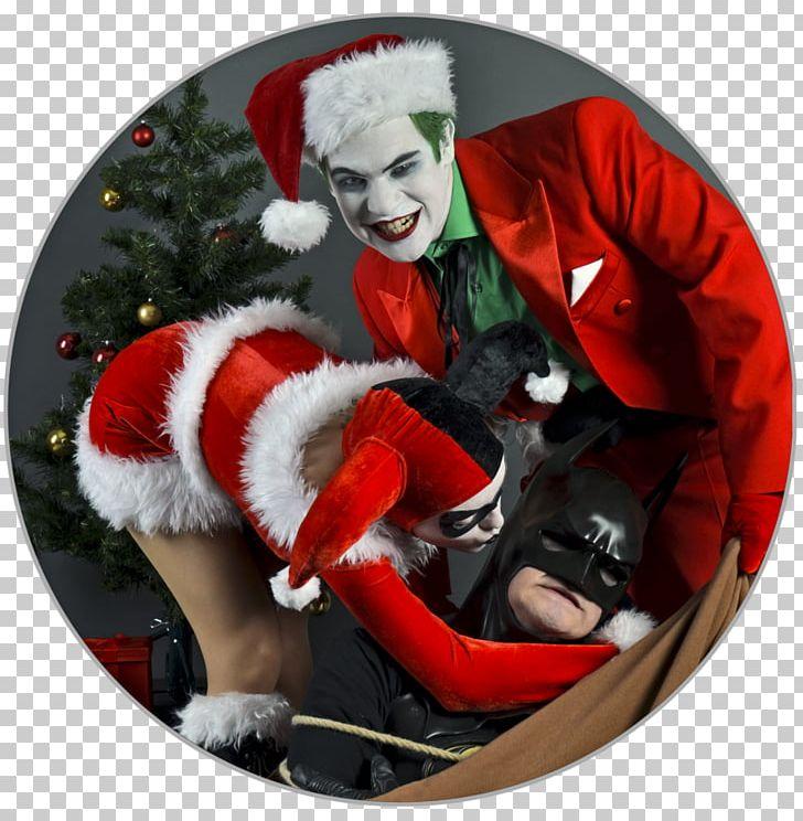 Joker Christmas Ornament.Santa Claus Alex Ross Joker Harley Quinn Christmas Ornament