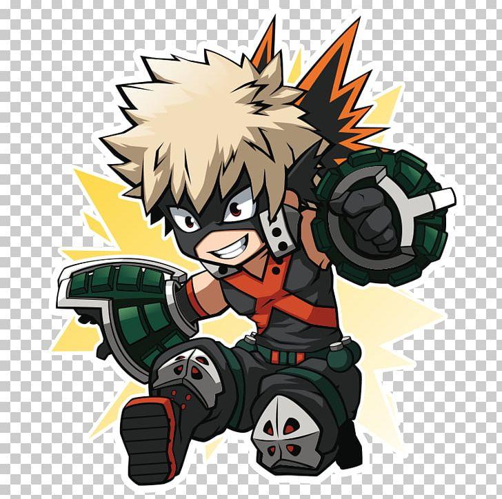 My Hero Academia One S Justice Katsuki Bakugou Chibi Fan