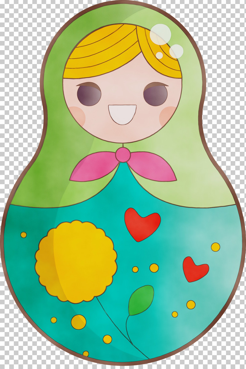 Character Yellow Headgear Infant Character Created By PNG, Clipart, Character, Character Created By, Colorful Russian Doll, Headgear, Infant Free PNG Download