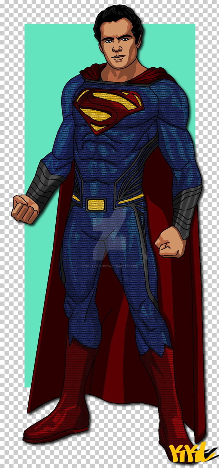 Henry Cavill Superman Man Of Steel Cyborg Art Png Clipart