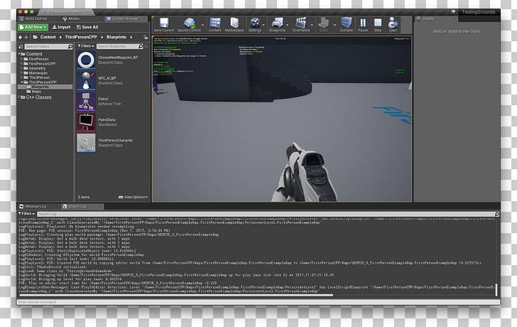 Computer Program Unreal Engine 4 MacBook Pro Computer
