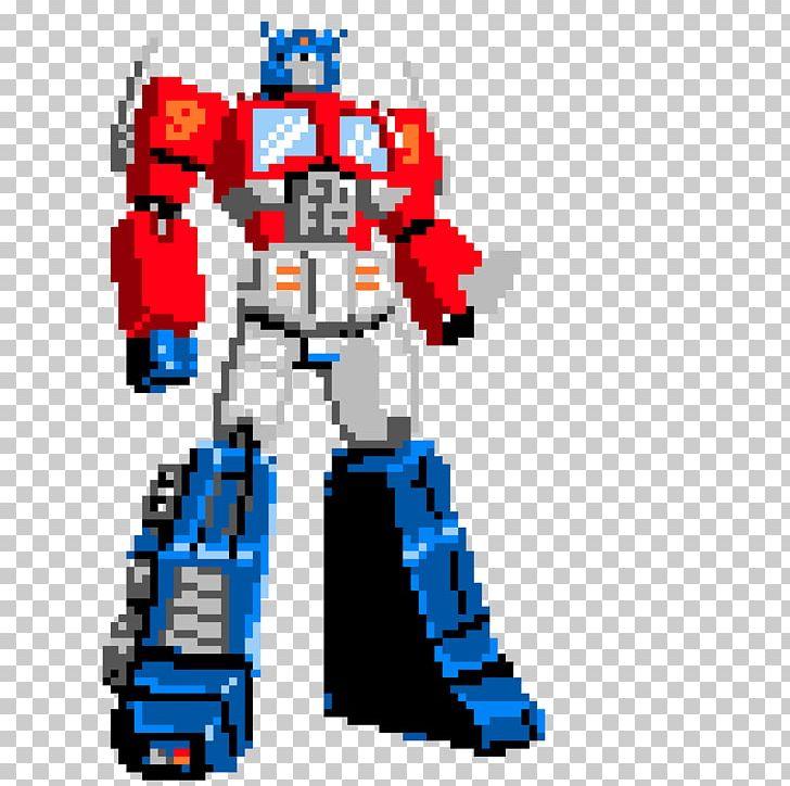 Optimus Prime Bumblebee Transformers Autobots Pixel Art Png