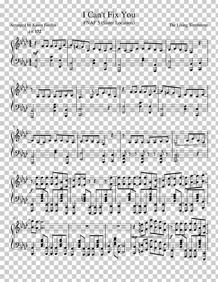 Toreador march fnaf sheet music