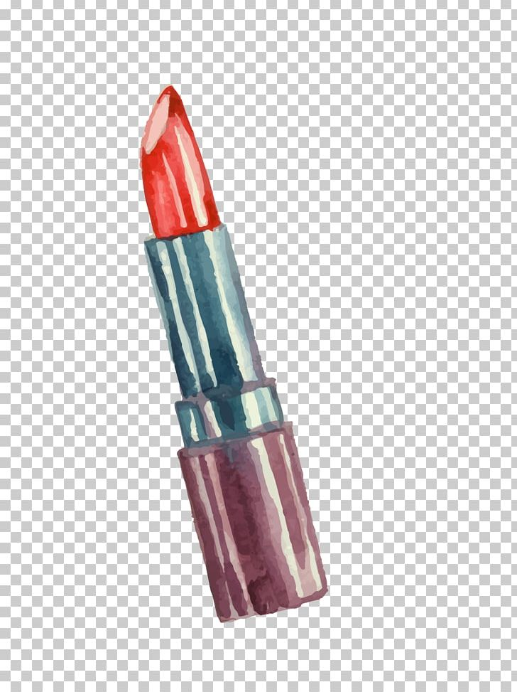 Lipstick Make-up Watercolor Painting PNG, Clipart, Cartoon Lipstick, Color, Cosmetics, Cosmetology, Encapsulated Postscript Free PNG Download