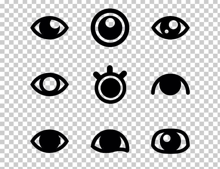 Black Leaf Eye Computer Icons PNG, Clipart, Area, Black, Black And White, Black Leaf, Circle Free PNG Download
