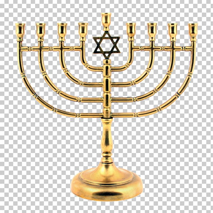 Menorah Judaism Religion Temple In Jerusalem PNG, Clipart, Anytime, Brass, Candle, Candle Holder, Candlestick Free PNG Download
