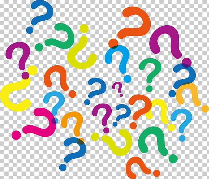 Question mark colorful. Icon png clipart area