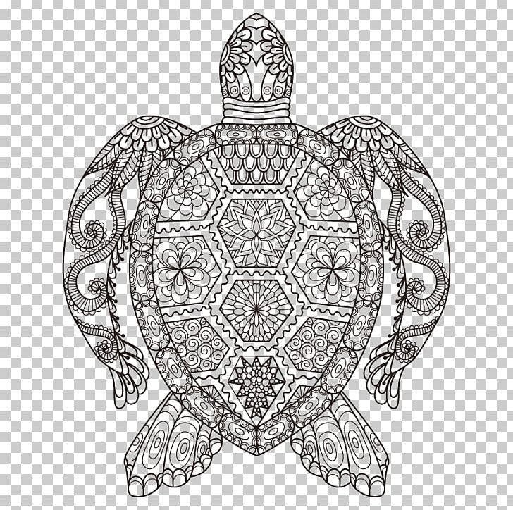 Sea Turtle Coloring Book Adult Drawing PNG, Clipart, Animals ...