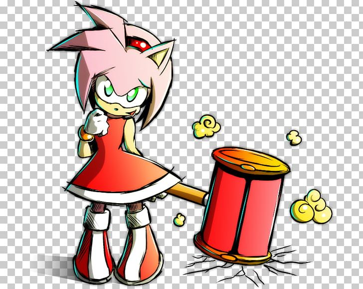 Amy Rose Fan Art Sonic The Hedgehog Png Clipart Amy Rose Art Artist Artwork Cartoon Free