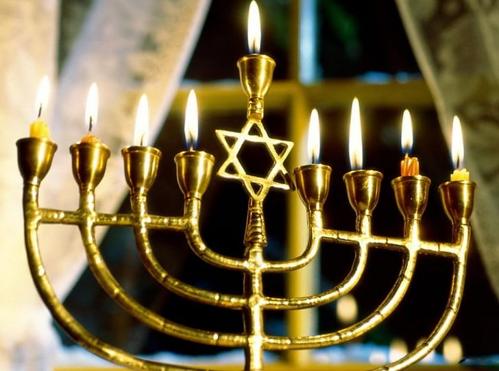Temple In Jerusalem Menorah Hanukkah Judaism Jewish Holiday PNG, Clipart, Brass, Candelabra, Candle, Candle Holder, Candlestick Free PNG Download