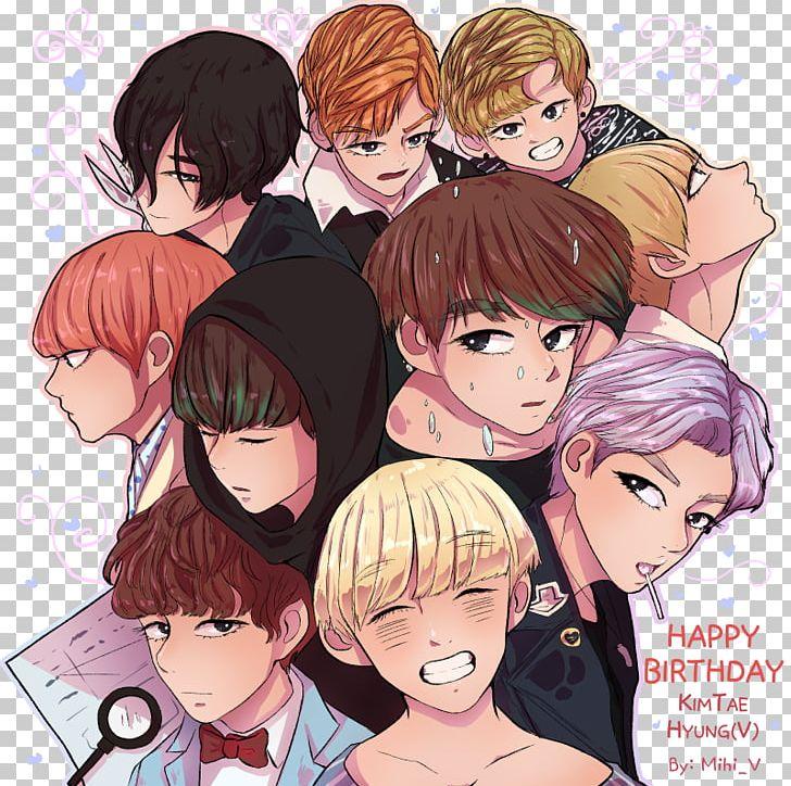 Kim Taehyung BTS Fan Art War Of Hormone PNG, Clipart, Anime