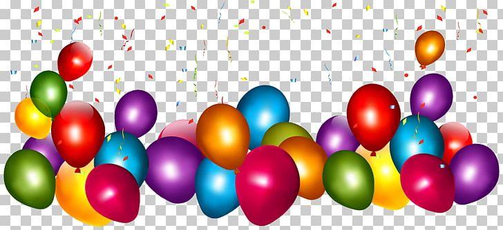 Balloon Confetti Png Clipart Balloon Balloons Birthday