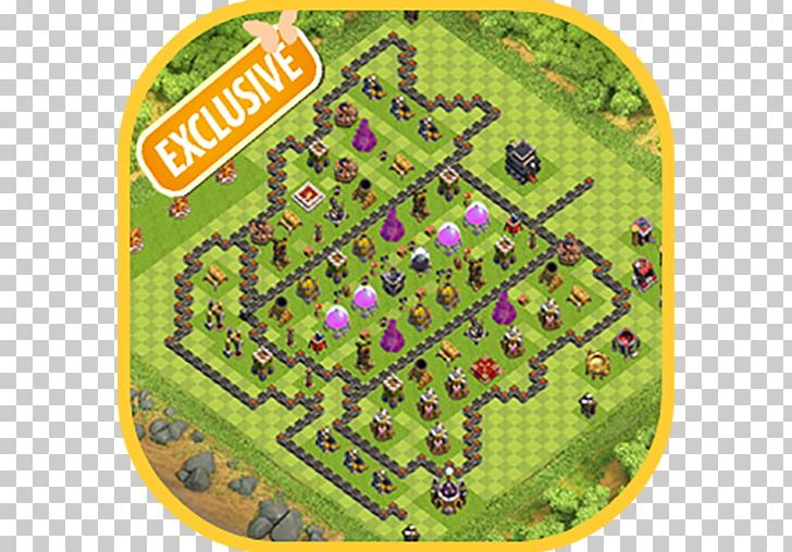 Clash Of Clan Map on