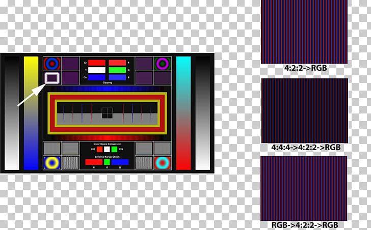 Display Device Rec  709 Color Space YUV Rec  601 PNG