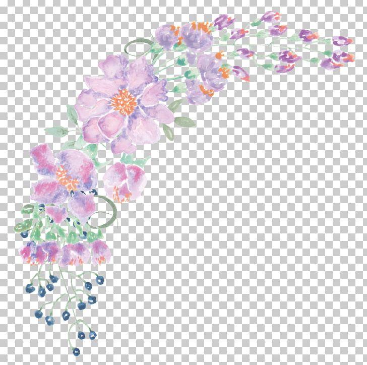 Floral Design Watercolour Flowers Watercolor Painting Png Clipart