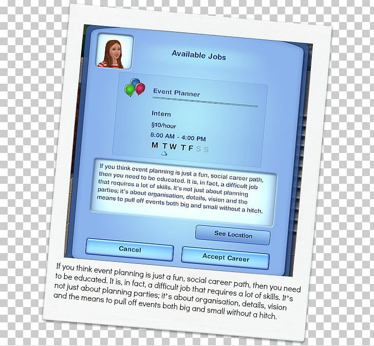 The Sims 3 The Sims 4 Computer Program Mod The Sims Careers