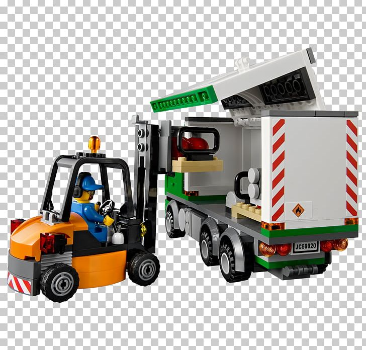 Lego City LEGO 60020 City Cargo Truck Toy Block PNG, Clipart, Cargo, Forklift, Forklift Truck, Lego, Lego 60020 City Cargo Truck Free PNG Download