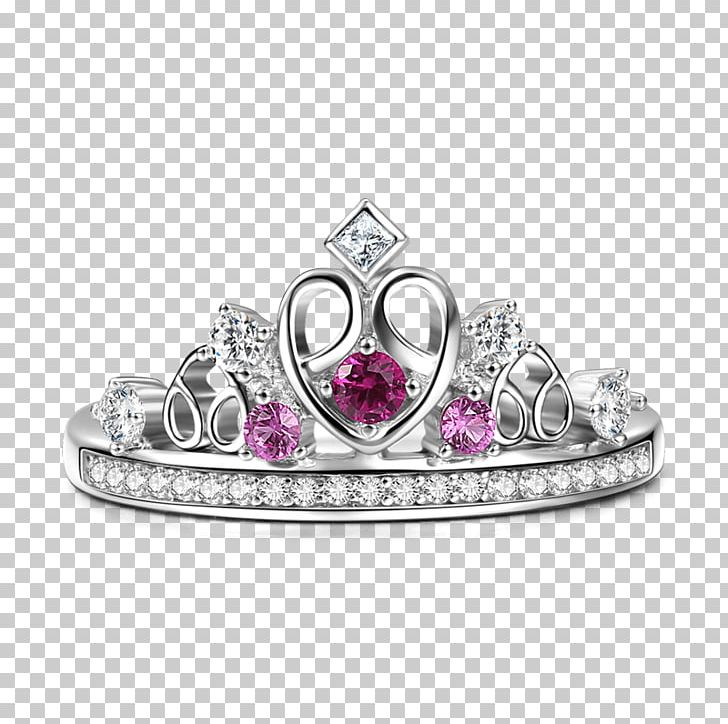 Ruby Ring Jewellery Crown Silver PNG, Clipart, Bijou, Bitxi, Blingbling, Bling Bling, Body Jewellery Free PNG Download