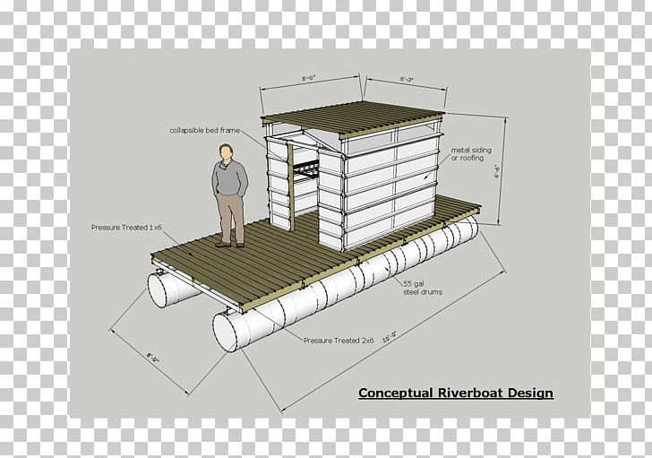 Pontoon Boat Building Houseboat Raft Png Clipart Angle