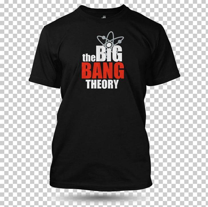 583aa455a T-shirt Tričko Big Bang Theory Logo Pánské Champion Tričko Monoskop černé  Pánské PNG, Clipart, ...