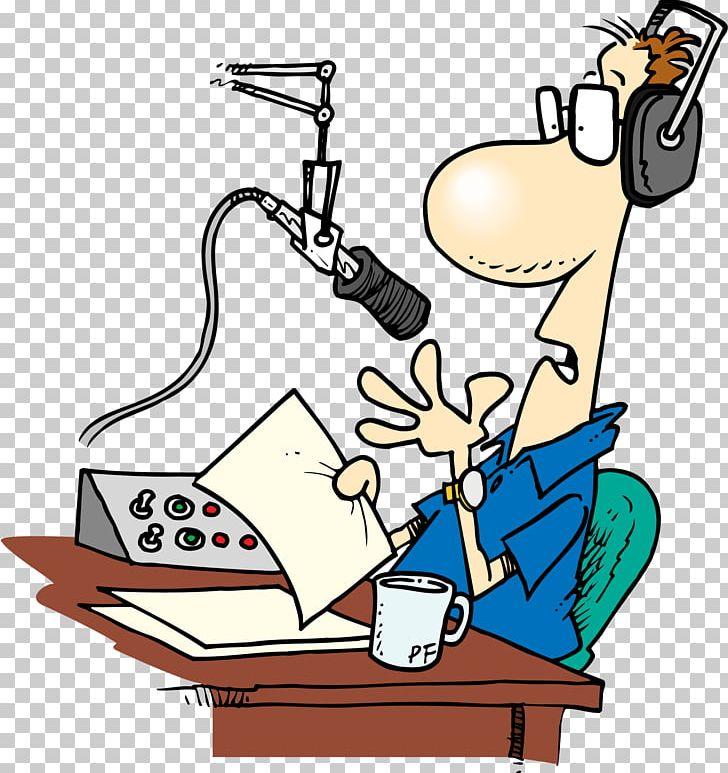 Radio Personality Broadcasting Talk Radio Disc Jockey PNG, Clipart, Amateur Radio, Announcer, Artwork, Broadcasting, Cartoon Free PNG Download