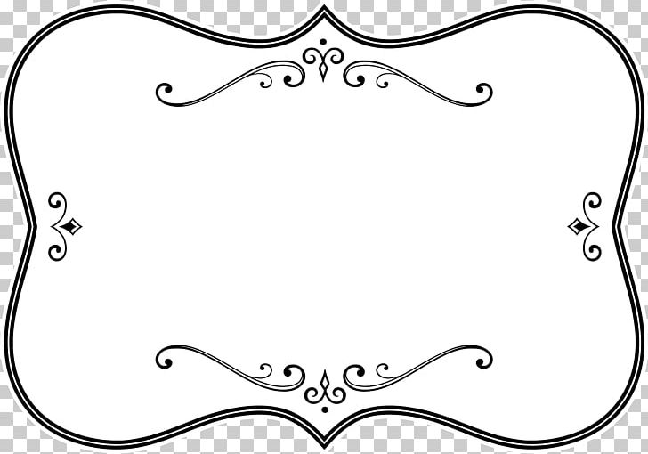 Borders And Frames Frames Black And White PNG, Clipart
