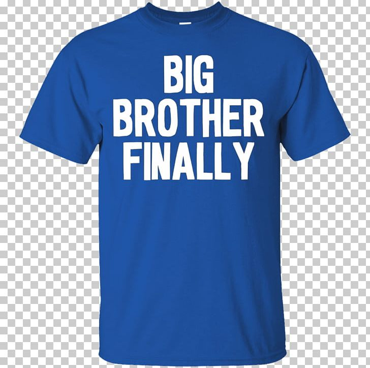 T-shirt Hoodie Gildan Activewear Sleeve PNG, Clipart, Active Shirt, Big, Big Brother, Blue, Brand Free PNG Download