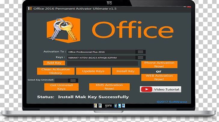 Microsoft Office 2016 Product Activation Product Key