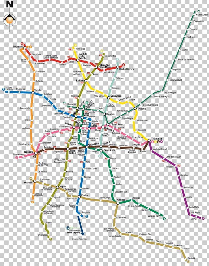 Mexco City Subway Map.Rapid Transit Metro Coyoacan Mexico City Metro Transit Map Png