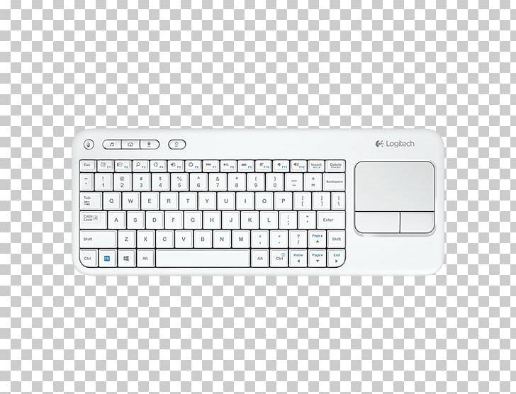 Computer Keyboard Computer Mouse Logitech K400 Plus Wireless