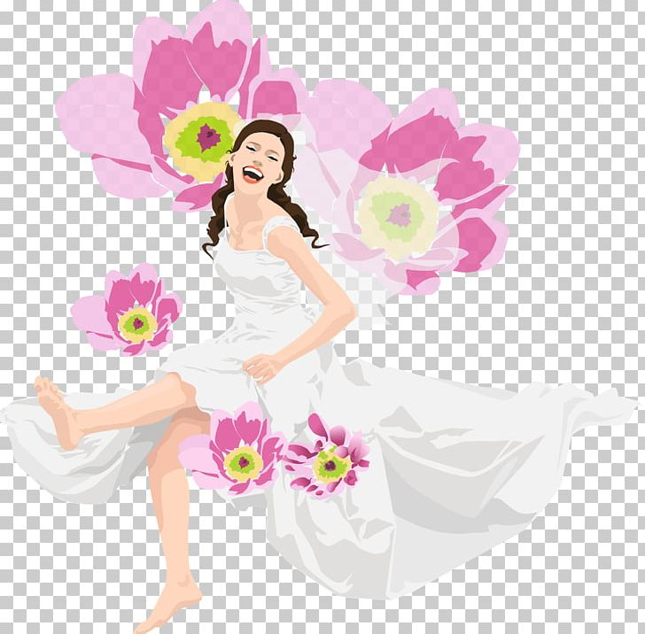 International Women's Day March 8 Woman Gift TeslaComputers PNG, Clipart, Beauty, Birthday, Black Hair, Blossom, Fairy Free PNG Download