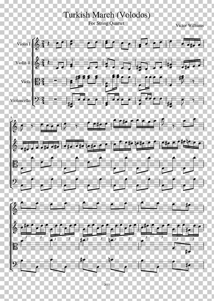Sheet Music Hallelujah String Quartet Cello PNG, Clipart