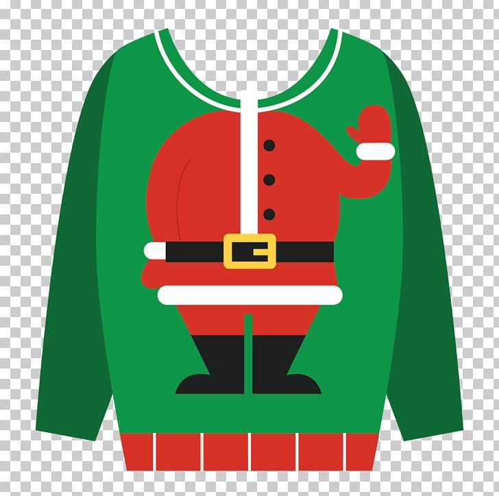 Green Day Christmas Sweater.T Shirt Christmas Jumper Christmas Day Sweater Santa Claus
