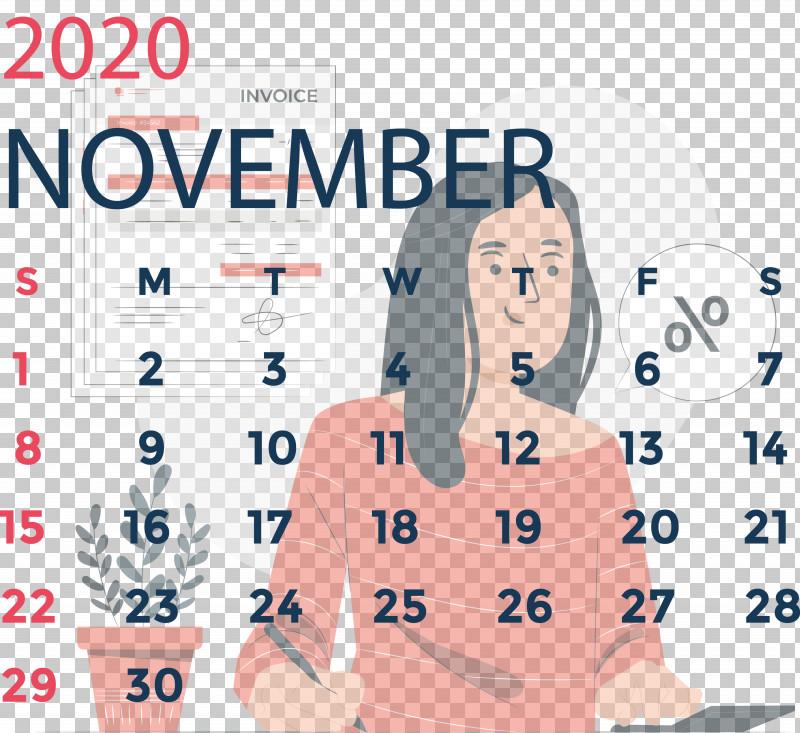 November 2020 Calendar November 2020 Printable Calendar PNG, Clipart, Chinese University Of Hong Kong, Conversation, Meter, November 2020 Calendar, November 2020 Printable Calendar Free PNG Download