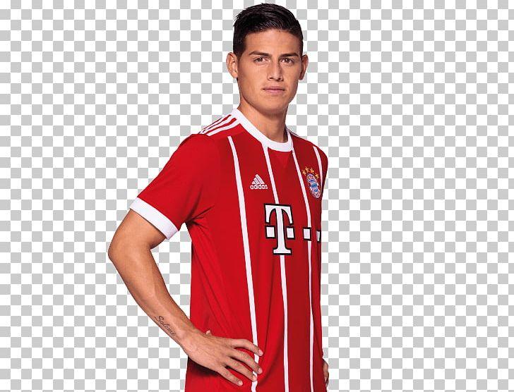 sale retailer 2bf5f e1a3f James Rodríguez FC Bayern Munich Real Madrid C.F. Allianz ...