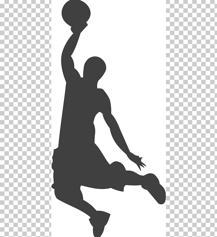 Basketball Slam Dunk Sport PNG, Clipart, Arm, Ball, Basketball, Birthday Sports Cliparts, Black And White Free PNG Download