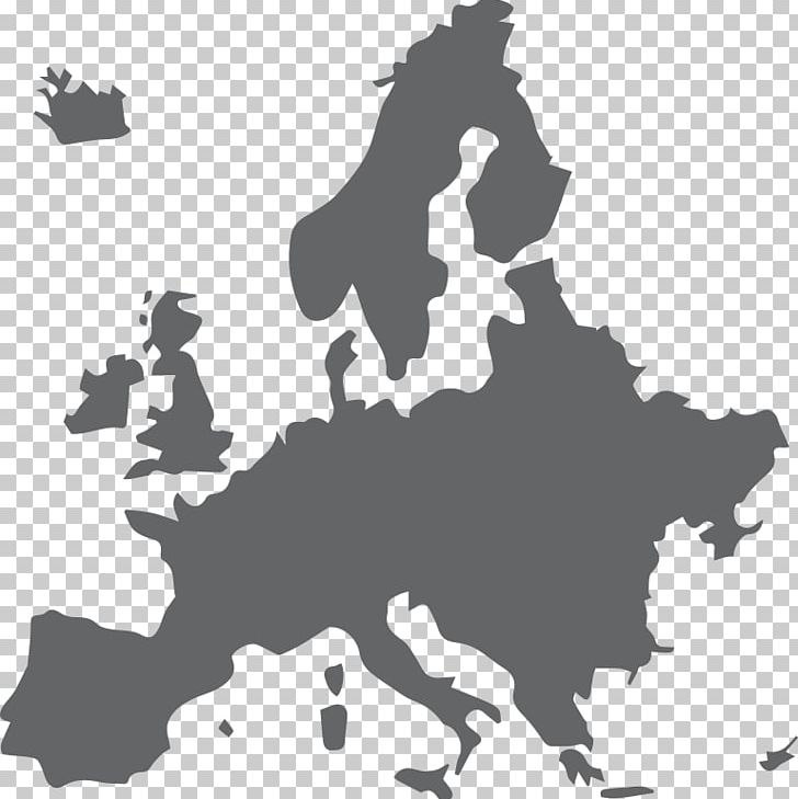 Europe Map Png Clipart Art Asia Map Black Black And