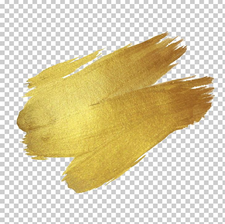 Brush Paint Gold Drawing PNG, Clipart, Aerosol Paint, Art, Brush, Color, Drawing Free PNG Download