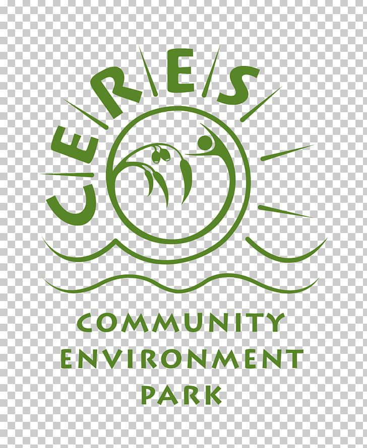 CERES Community Environment Park Logo Brand Font PNG, Clipart, Area, Brand, Ceres Community Environment Park, Circle, Green Free PNG Download