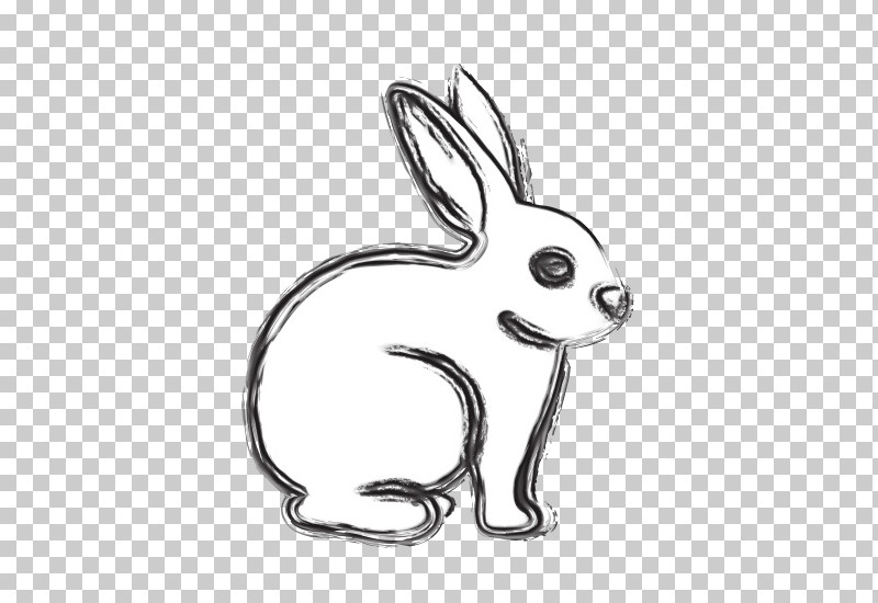 Rabbit Rabbits And Hares Line Art Hare Tail PNG, Clipart, Drawing, Hare, Line Art, Paint, Rabbit Free PNG Download