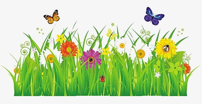 Grass Flowers PNG, Clipart, Cartoon, Flowers, Flowers Clipart, Grass, Grass Clipart Free PNG Download