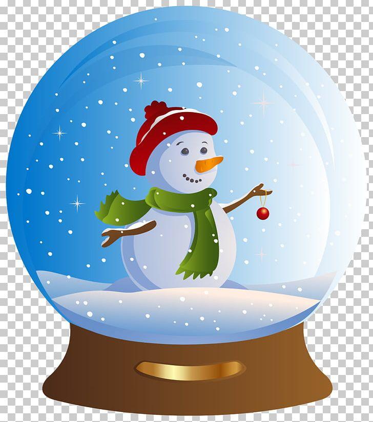 Snow Globe Snowman Santa Claus Christmas PNG, Clipart, Christmas, Christmas Clipart, Christmas Ornament, Christmas Snowglobe, Clipart Free PNG Download