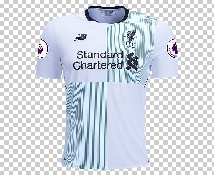 2017 18 liverpool f c season premier league jersey shirt png clipart active shirt blue brand clothing imgbin com