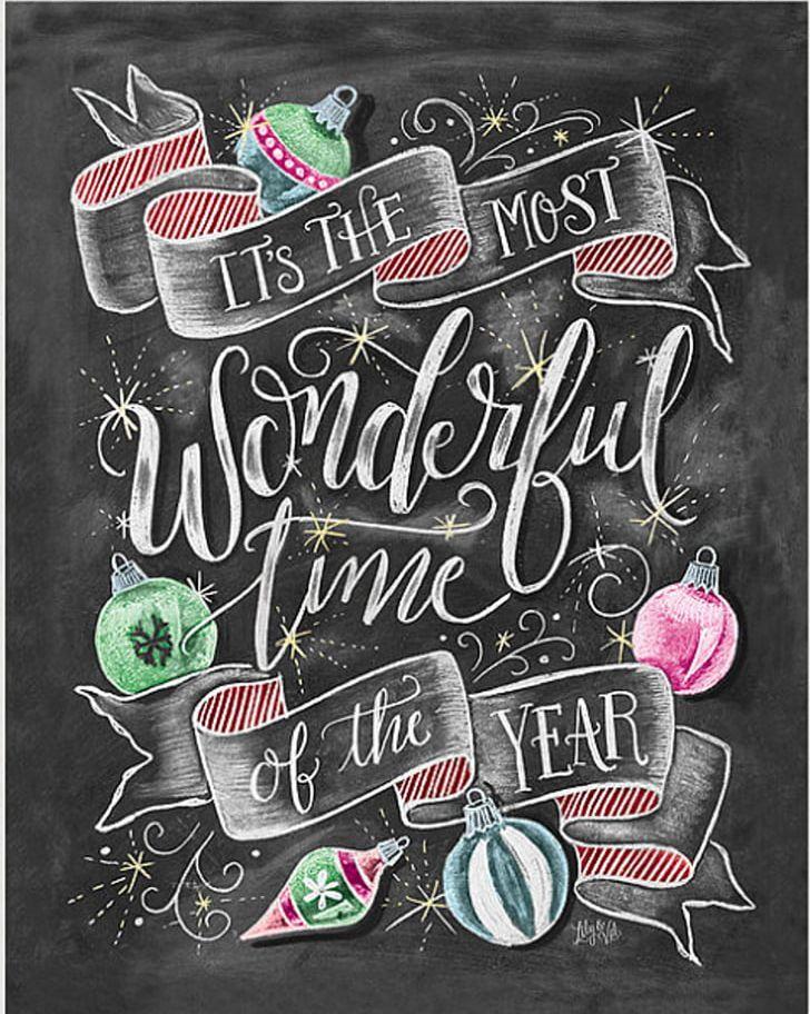 Santa Claus Christmas Decoration Holiday Blackboard PNG, Clipart, Blackboard, Chalk, Chalkboard, Chalkboard Art, Christmas Free PNG Download