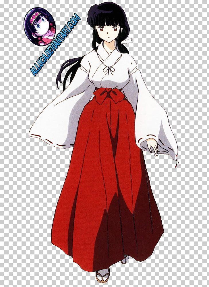 Kikyo Inuyasha Kagome Higurashi Shippo Kaede Png Clipart Anime