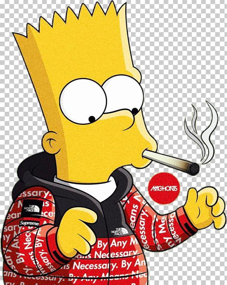 Bart Simpson Homer Simpson Supreme Graphic Designer Png Clipart