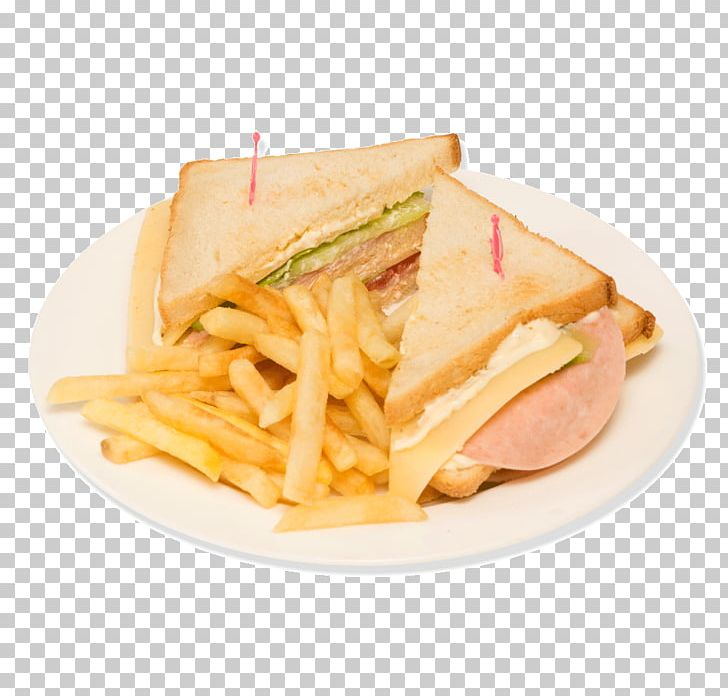 Club Sandwich French Fries Fast Food Ham And Cheese Sandwich Breakfast PNG, Clipart, American Food, Bread, Breakfast, Breakfast Sandwiches, Cheeseburger Free PNG Download